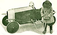 Compressed air car from the 1920s