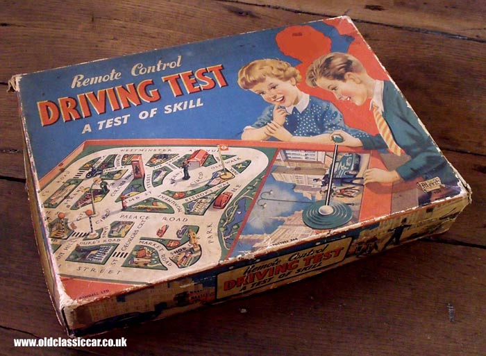 The box for this driving game