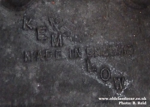 The Kemlow maker's mark