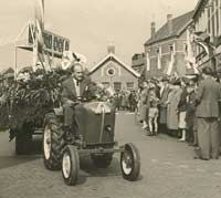 On parade in the Netherlands