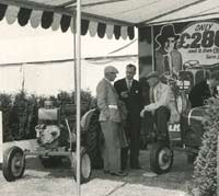 Sales stand at an agricultural event