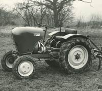 Press photo for the Crawley Diesel tractor