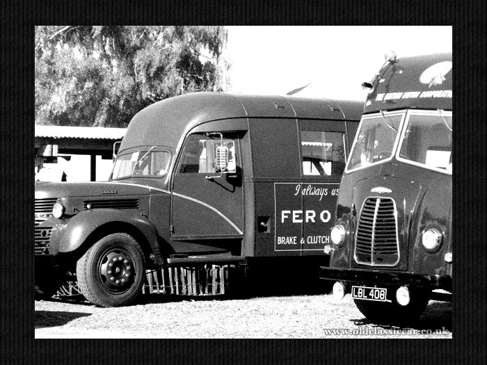 The Dodge and Morris transporters together