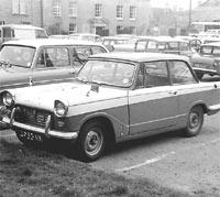 A 1961 Triumph Herald