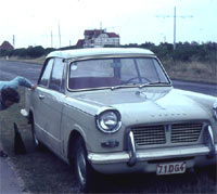 Early 948cc Herald with the bonnet handle