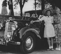 A 1951 Renown parked in France