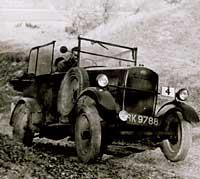 Trojan trials car in action