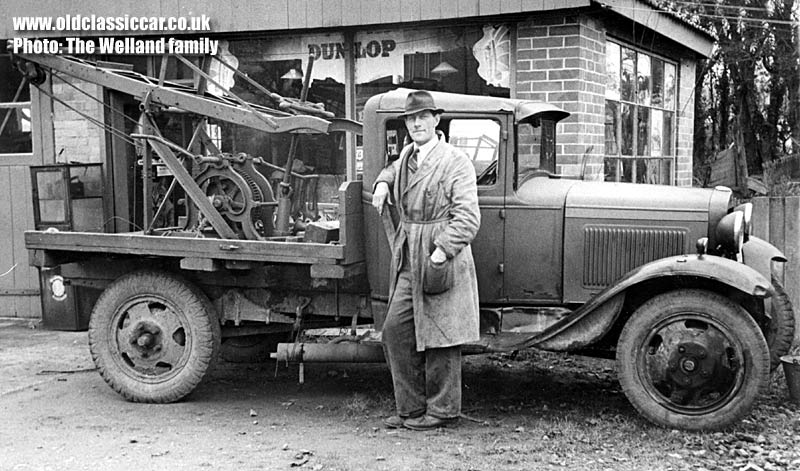 1930 S Ford Model Aa Breakdown Recovery Truck Photographs