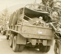 US Army GMC truck