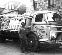 A Commer TS3 lorry