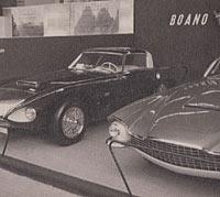 Boano Jaguar XK140 and the Chrysler Special Corsair II