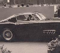 Side view of the Pininfarina GT Berlinetta