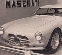 Maserati AG 2000 Zagato sports car