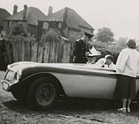 The car photographed in 1951