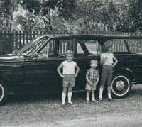 Side view of the 1963 station wagon