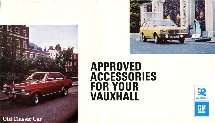 Vauxhall Victor FE and Viva HC on the cover