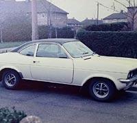 White Vauxhall Firenza