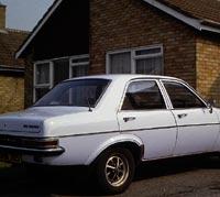Rear view Vauxhall Viva 1300 GLS