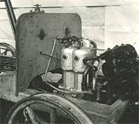 Engine in the chassis