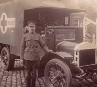 WW1 Vulcan ambulance donated by the factory