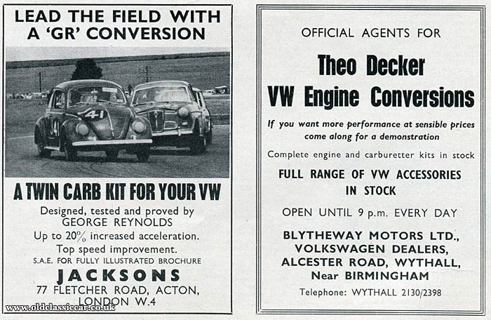 Theo Decker engine conversions