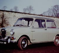 Grey 1966 Wolseley Hornet