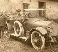 WW1 Wolseley staff car, with the RFC