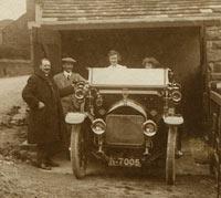 Edwardian-era Wolseley car