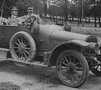 Sunbeam 16hp car in WW1