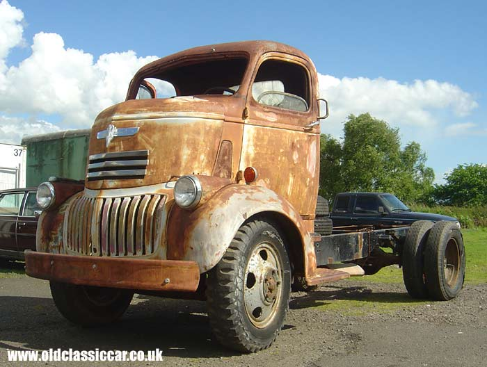 Antique Coe Truck Vintage