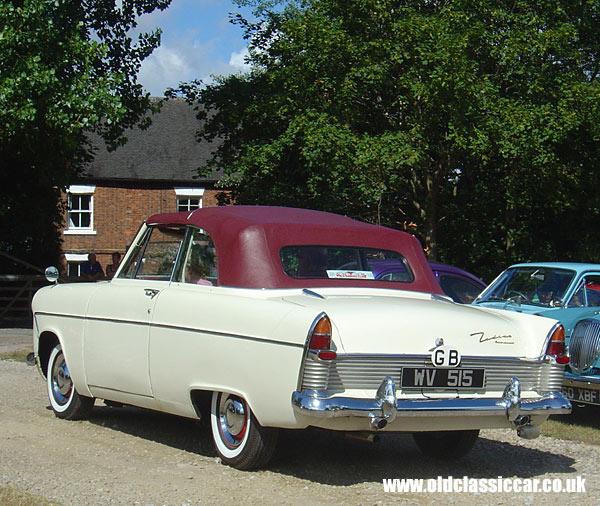 a classic Ford Zodiac Mk2