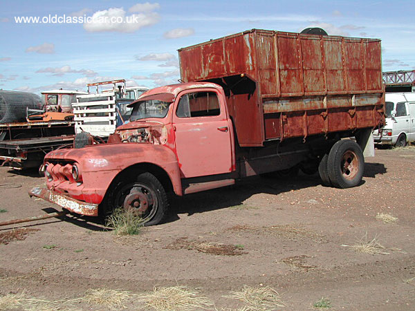 truck built by Ford
