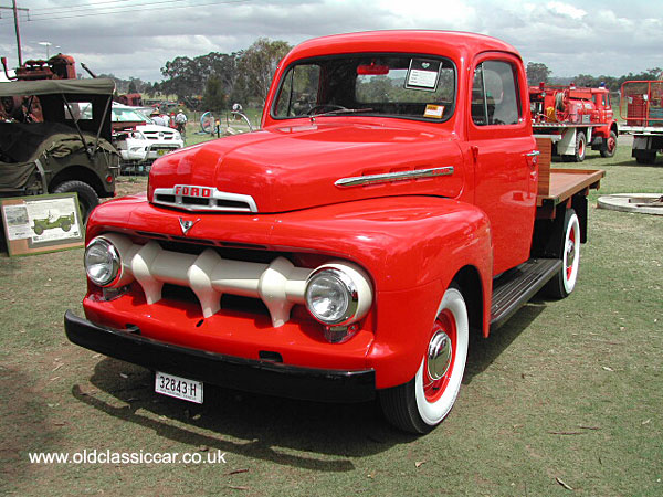 V8 truck built by Ford