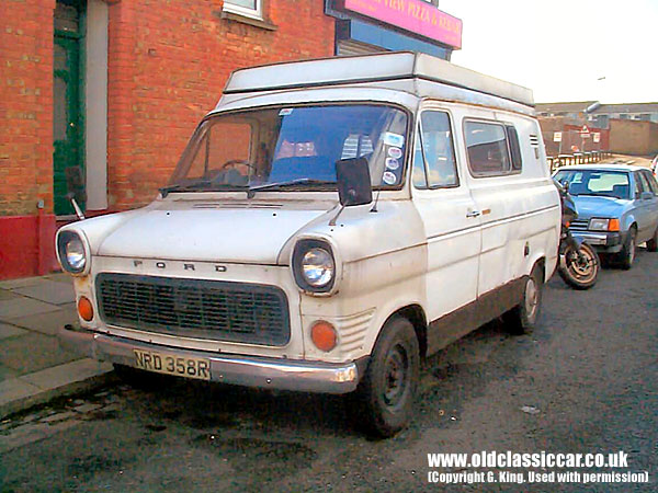 Ford Transit Mk1 Camper In White Photograph 11 Of 114