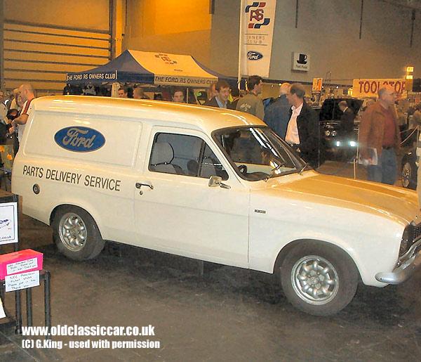 1970s Ford Escort Mk1 Van.