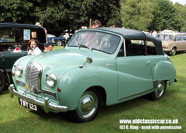 Austin A40 Somerset dhc in Gre...