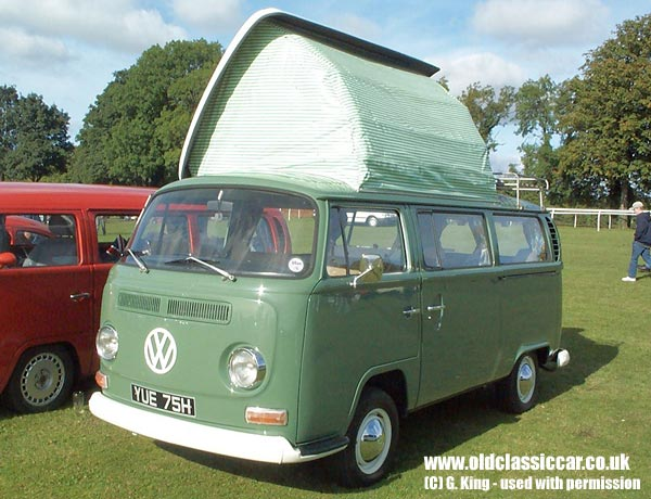 VW Camper In Green Photograph 93 Of 114