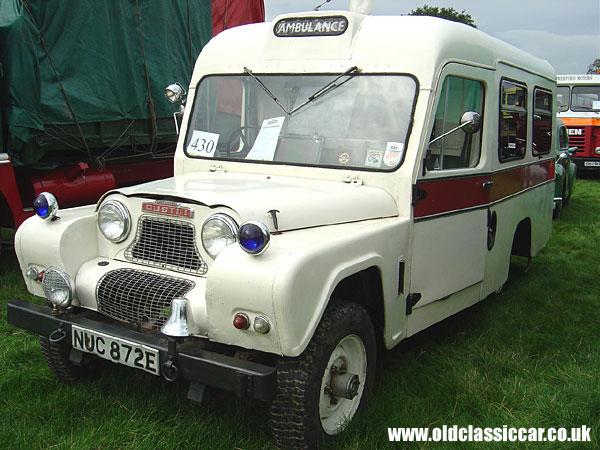 Austin Gipsy Ambulance picture.