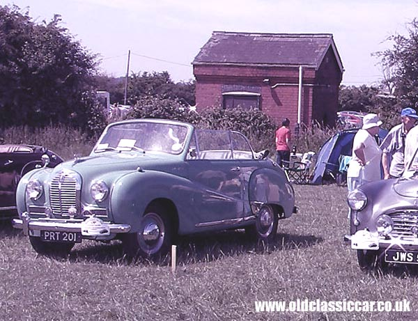 Photo of Austin A40 Somerset dhc at oldclassiccar.