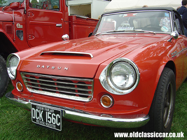 Photo of Datsun Fairlady at oldclassiccar.