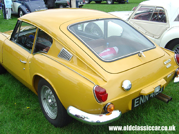 Triumph Gt6 Mk2 In Yellow Photograph Number 24 Of 120