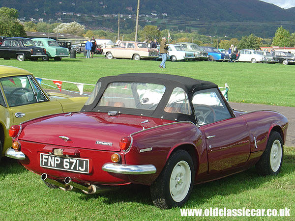 triumph spitfire mk3 in red photograph number 64 of 120. Black Bedroom Furniture Sets. Home Design Ideas