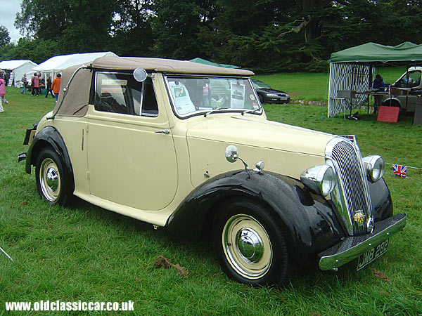 Photo of Standard Twelve DHC at oldclassiccar.