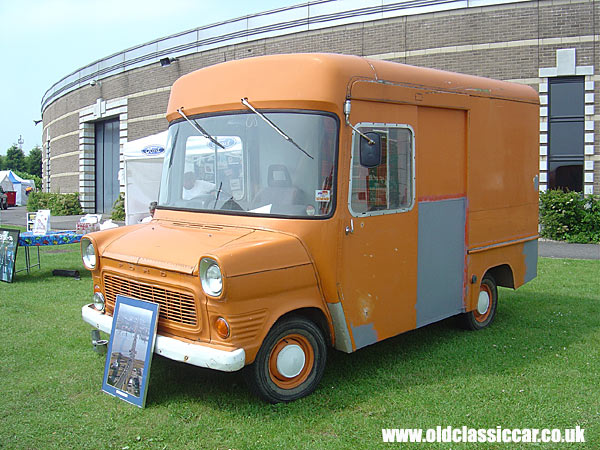 Photo of Ford Transit Mk1 high-top van at oldclassiccar.