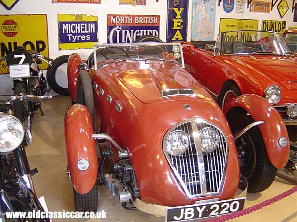 Photo of Healey Silverstone at oldclassiccar.