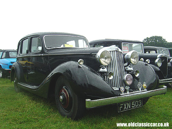 Photo of Sunbeam Talbot 3 litre saloon at oldclassiccar.