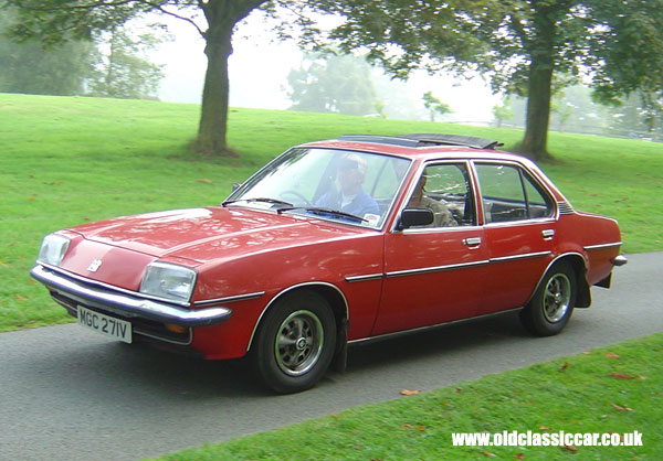 Vauxhall Cavalier Mk1 Photograph At Cholmondeley Castle