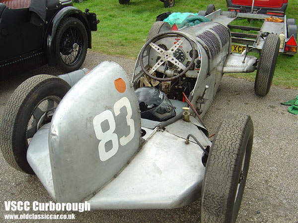 Photo showing Issigonis Lightweight special at oldclassiccar.co.uk.