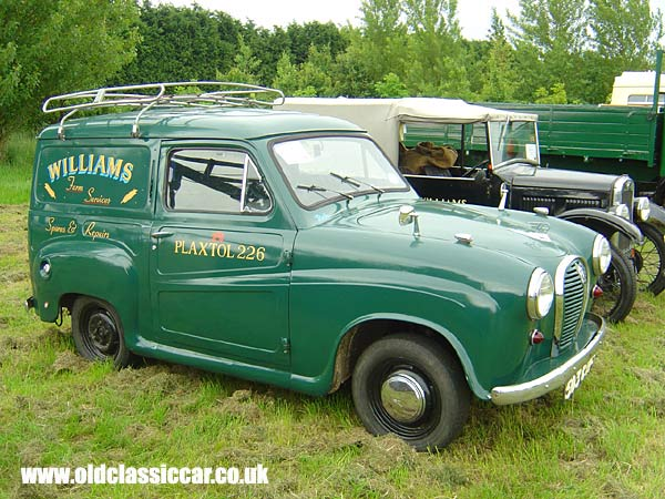 austin a35 van picture. Black Bedroom Furniture Sets. Home Design Ideas