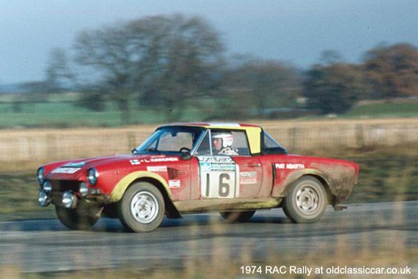 Fiat-Abarth 124 Rallye rally